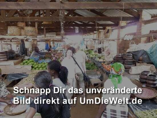 die Markthalle in Zomba