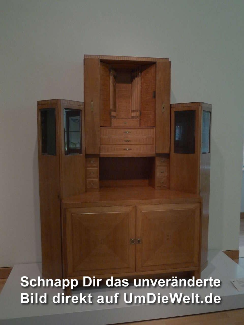 deutschland reisebericht permanentausstellung k nstlerkolonie. Black Bedroom Furniture Sets. Home Design Ideas