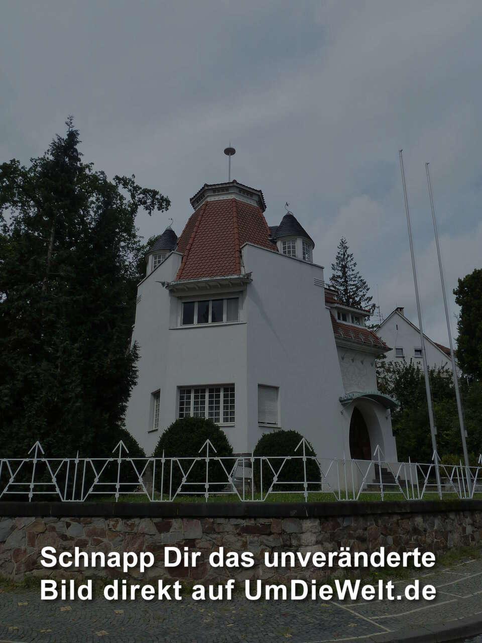 deutschland reisebericht 1 rundweg zu den h usern der k nstler. Black Bedroom Furniture Sets. Home Design Ideas