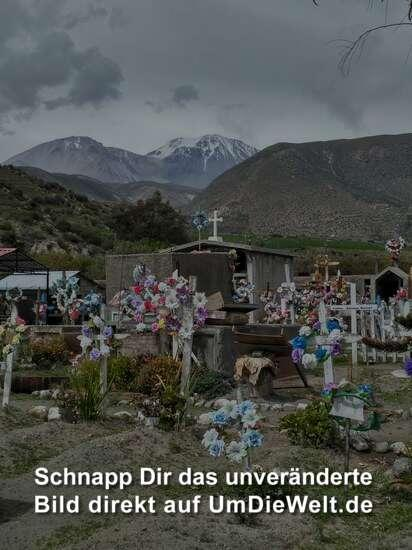 Friedhof in Putre