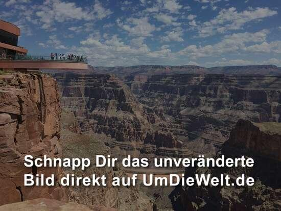 Skywalk über den Grand Canyon