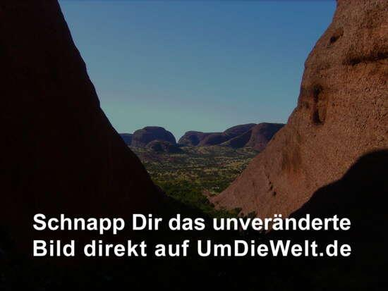 Blick ins Valley of the Winds