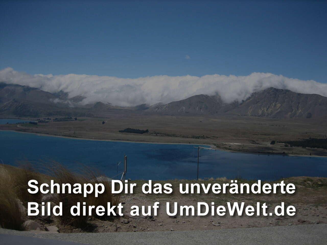 """Neuseeland Detail: Neuseeland-Reisebericht: """"Lake Tekapo"""""""