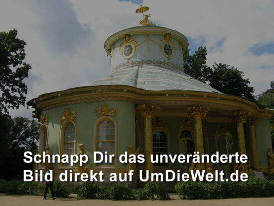Deutschland reisebericht friedenskirche und orangerie in for Traditionelles chinesisches haus