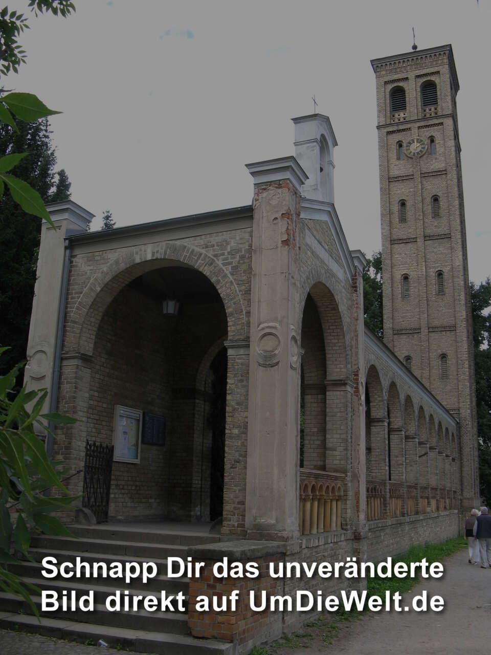 Deutschland reisebericht krongut bornstedt ruinenberg und pfingstberg - Bekannte architekten ...