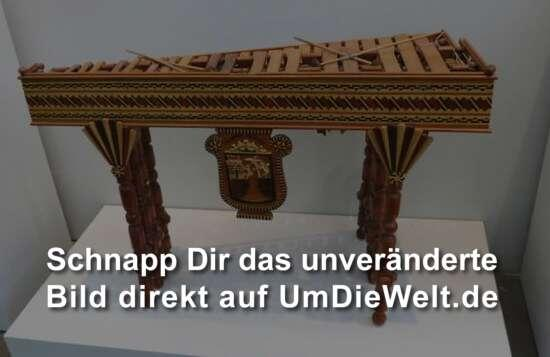 Im Innern des Museums...