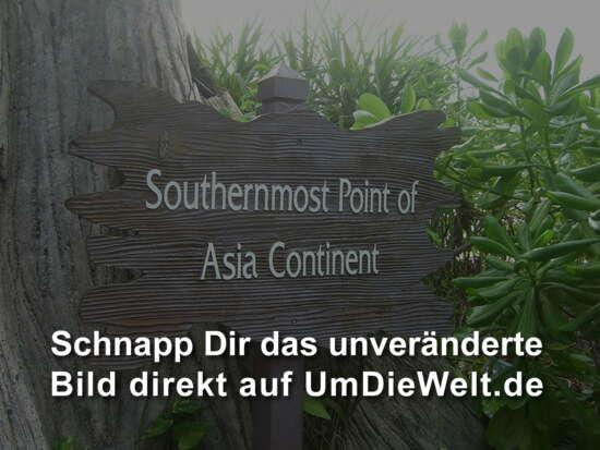 ...Southernmost Point of Asia Continent