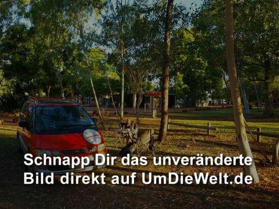 Campsite im Nationalpark