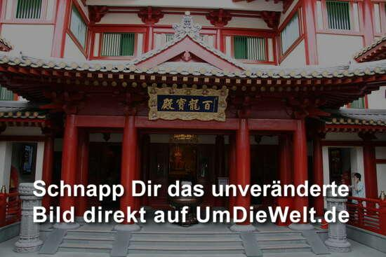 der tempel in china town