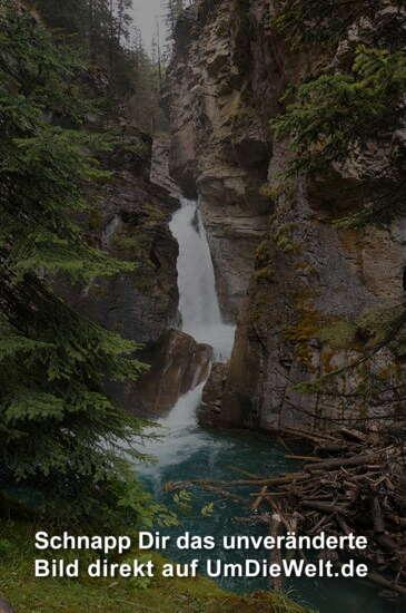 Lower Fall im Johnston Canyon