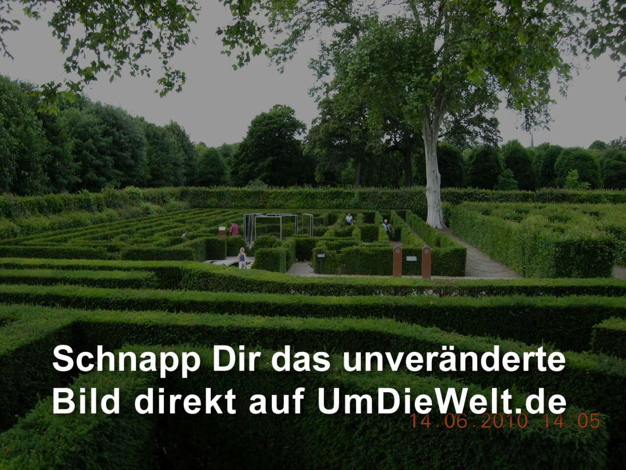 Sterreich reisebericht schloss sch nbrunn - Irrgarten deutschland ...