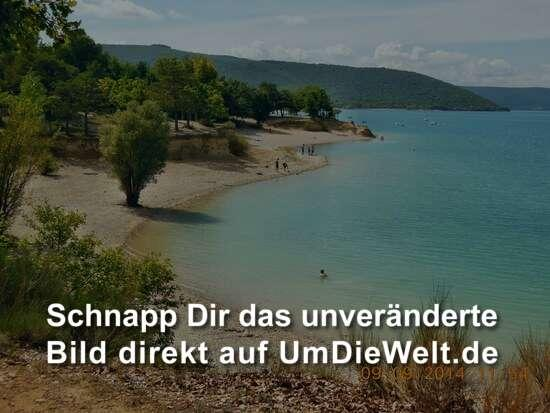 frankreich reisebericht quot les salles sur verdon am lac de ste croix