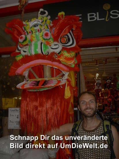 Chinatown, bald ist je Chinease new year