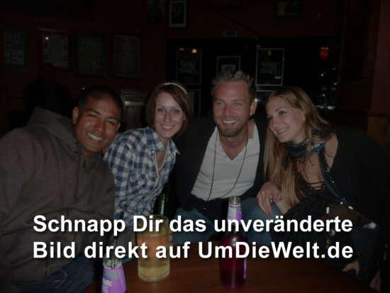 Sanjay, Julia, Chris und Ronja...