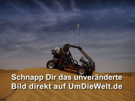 Unser Buggy in der Wüste