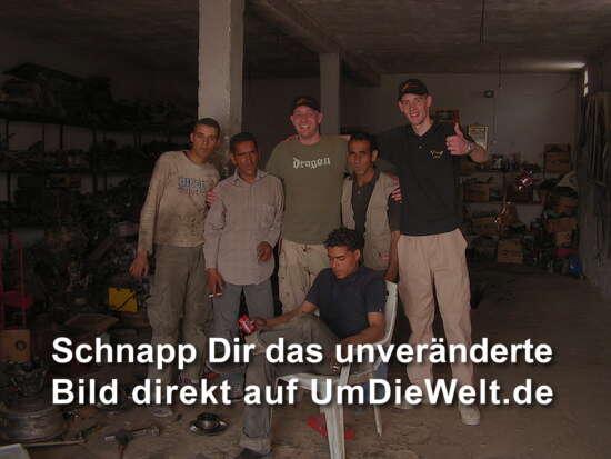 die Truppe in der Werkstatt in Douz hat es gerichtet !!!
