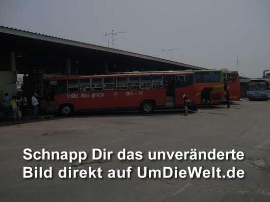 unser Bus nach Phimai