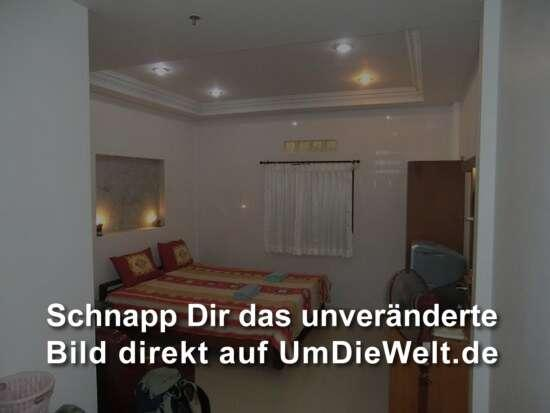das Zimmer für 500 THB ( 12,20 Euro ) die Nacht