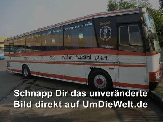 unser Bus von Nang Rong nach Unbon Ratchathani