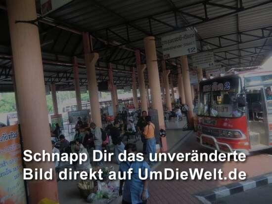 Busbahnhof in Unon Ratchathani
