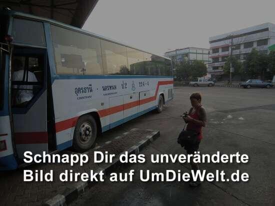 unser Bus für die 6 Stunden Fahrt