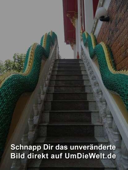 eine halbe Treppe darf es schon sein.....