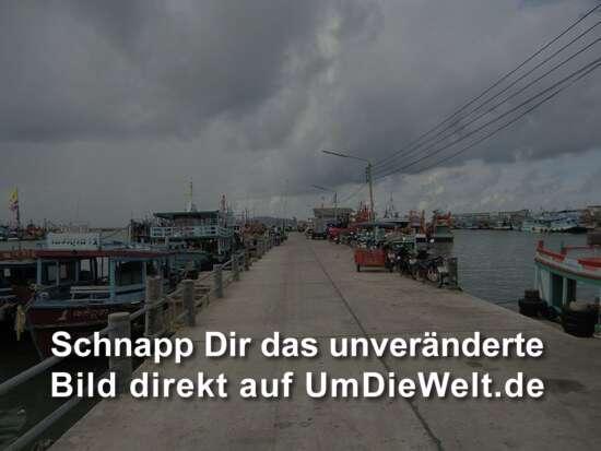 der Pier von Ban Phe