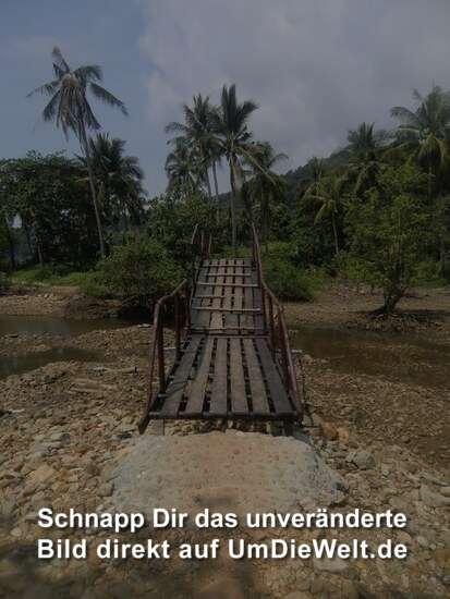 über diese Brücke werden sie gehen