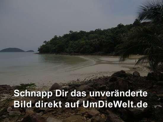 einem wunderschönen Strand
