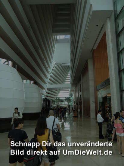 "die ""Lobby"" im Marina Sands Bay Hotel"