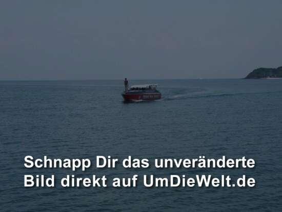 das Boot erscheint