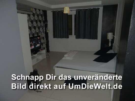 """das Zimmer im """"Room 9 Hotel"""""""