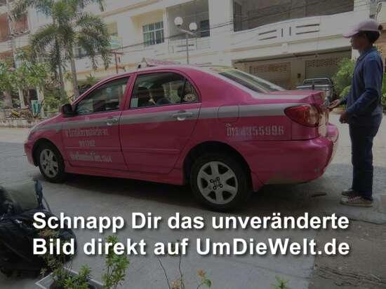 unser Taxi nach Bangkok