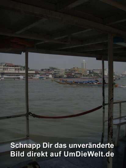 Fährfahrt über den Chao Phraya