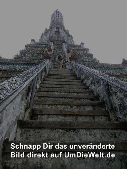 56 steile Stufen......