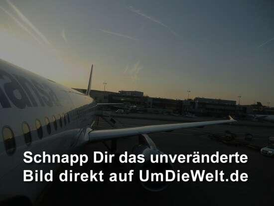 Sonnenaufgang Flughafen Frankfurt/Main
