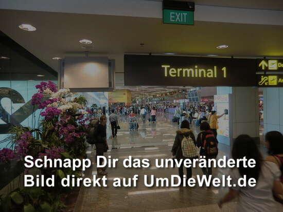 Zugang zum Terminal 1