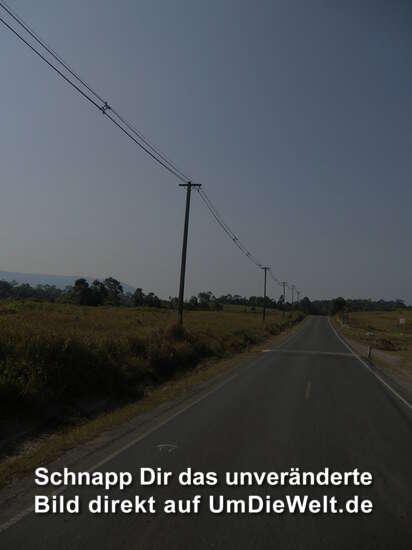 autofreie Straßen am Morgen