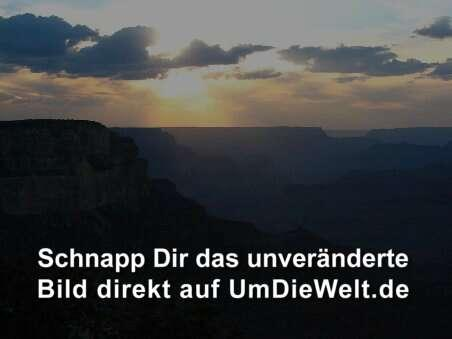 Grand Canyon bei Sonnenuntergang