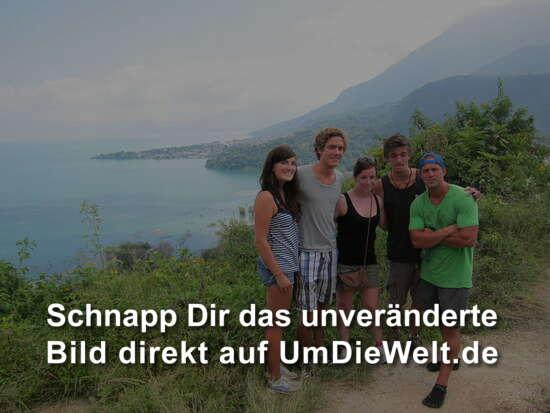 "Das Hiking - Team zur ""Indian Nose""!"