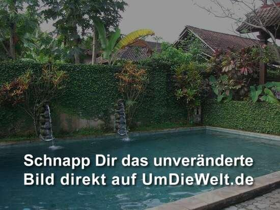 Unser Pool in Ubut.