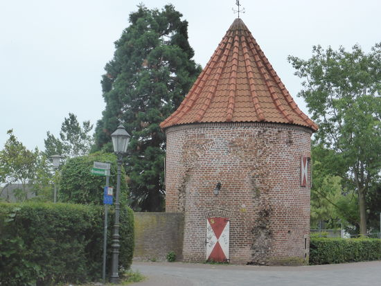 Mauerturm am Westwall