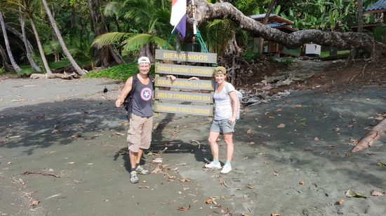 Der Start in den Urwald