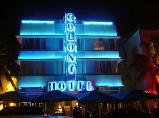 Colony Hotel im Art-deco-Viertel
