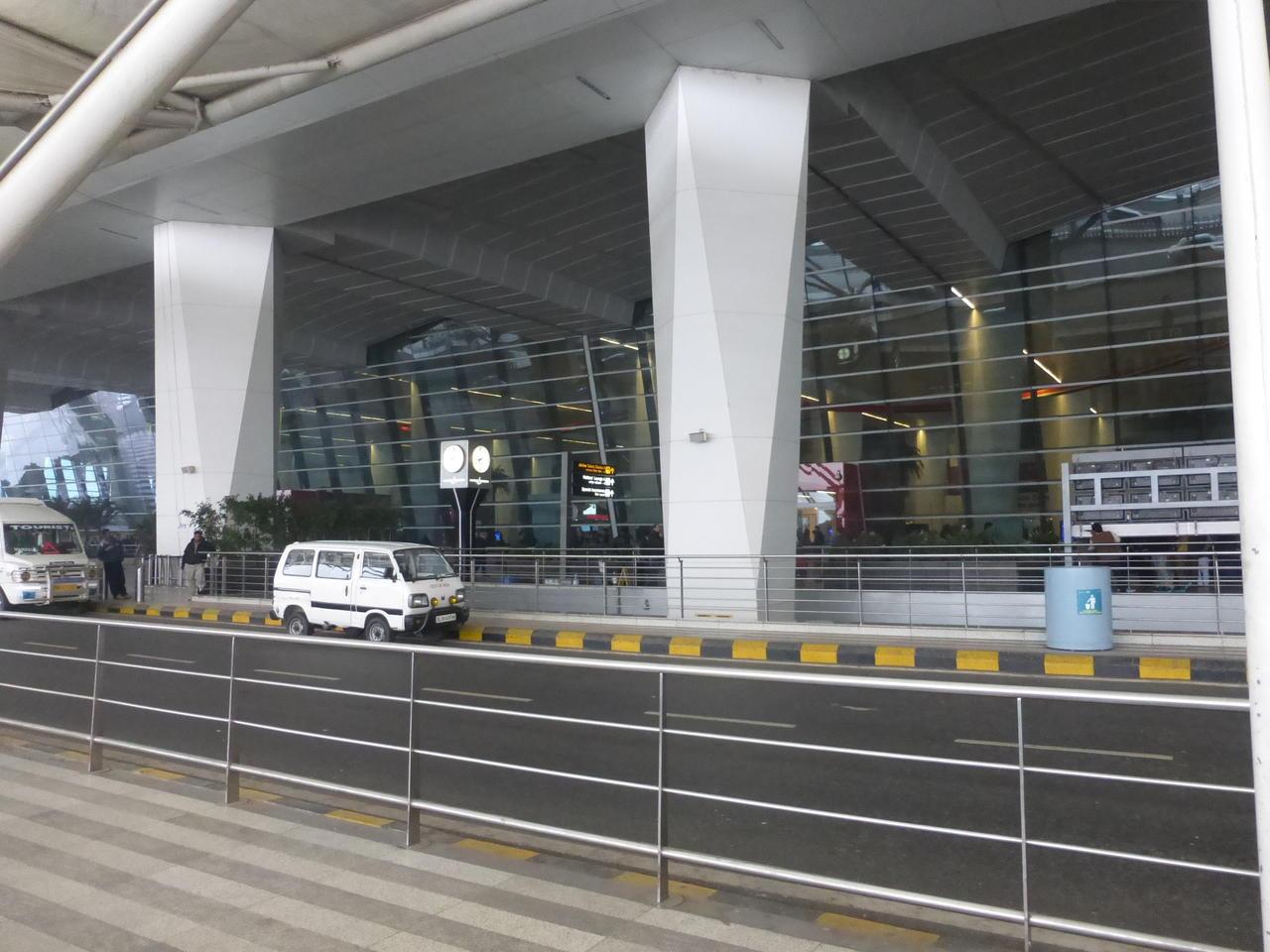 Flughafen Delhi Abflug
