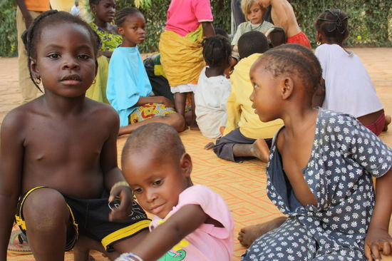 Unsere Kindergruppe in San