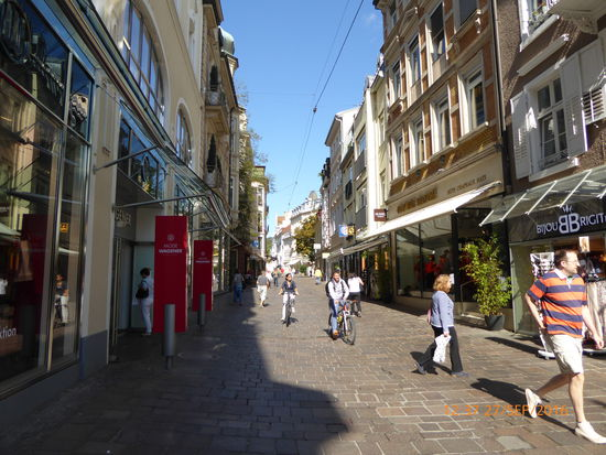 Baden Baden Fußgängerzone