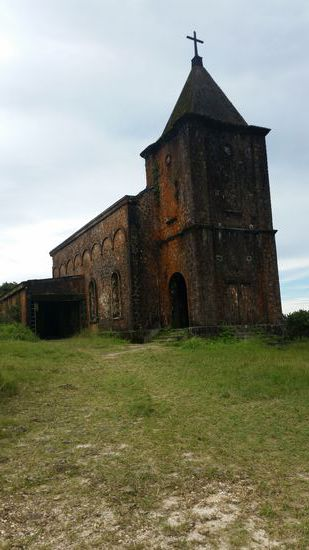 Old Church Bokor hill station